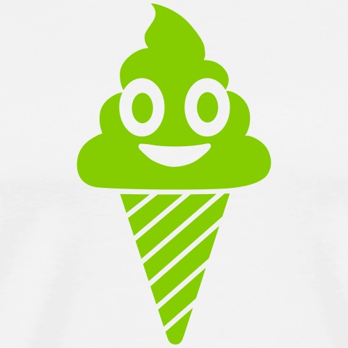 Smiling Ice Cream - Men's Premium T-Shirt