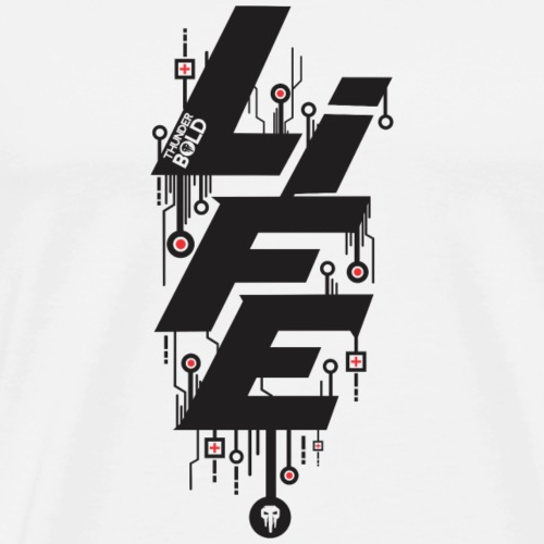 life circuit - Men's Premium T-Shirt