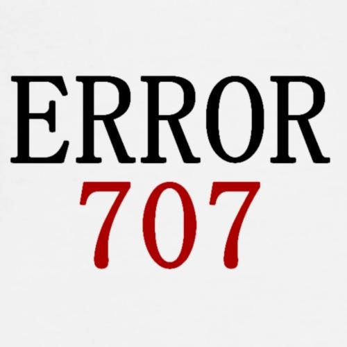 ERROR : 707 - Men's Premium T-Shirt