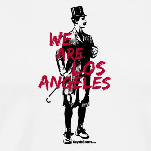 We Are Los Angeles Red - Men's Premium T-Shirt