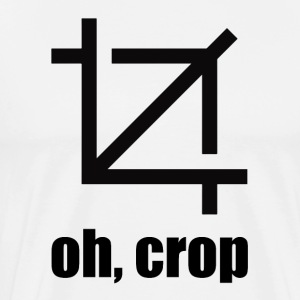 oh,crop - Men's Premium T-Shirt