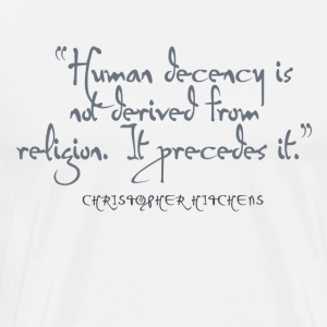 HitchHumanDecency - Men's Premium T-Shirt