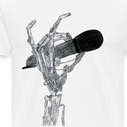 Gontier Mic Stand - Men's Premium T-Shirt