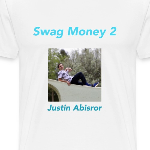 Swag Money 2 Album Cover - Men's Premium T-Shirt