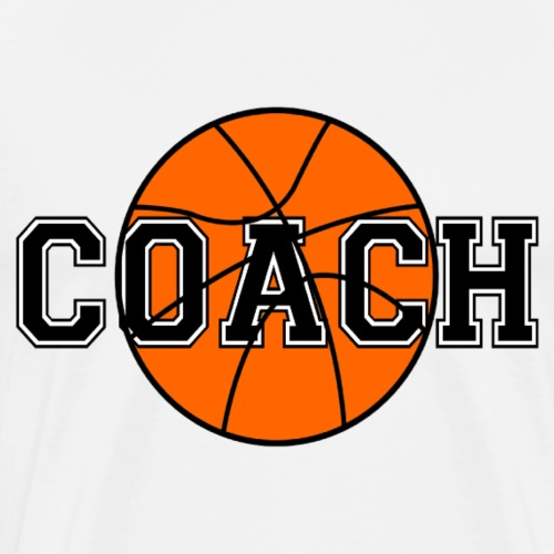 Basketball Coach - Men's Premium T-Shirt