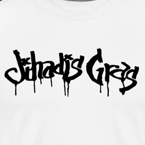JihadisGras Logo (Black) - Men's Premium T-Shirt