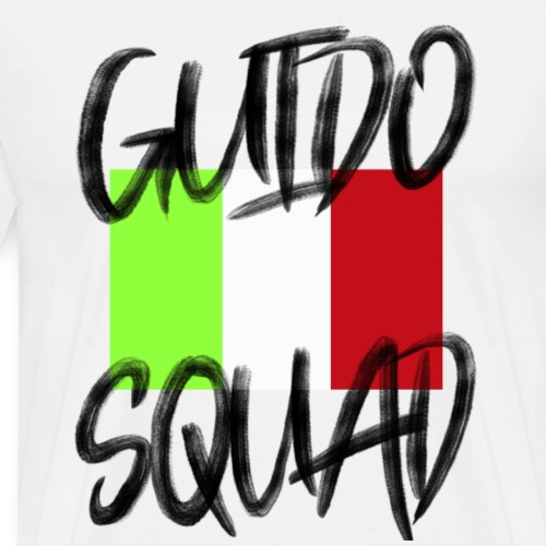 GUIDO SQUAD Proud Italalian Team Italian USAFamily - Men's Premium T-Shirt