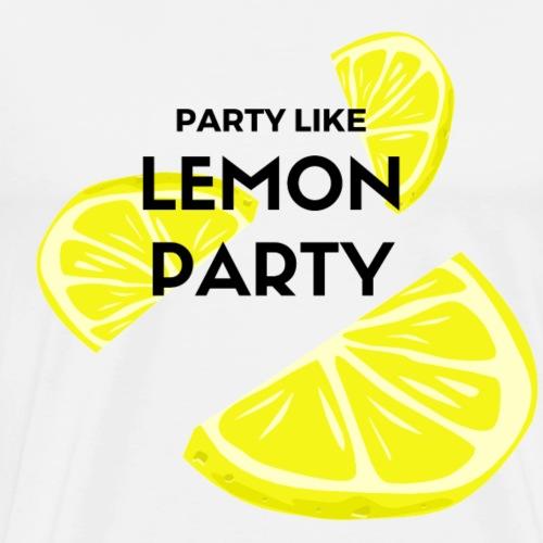 The True Lemon Party Shirt - Men's Premium T-Shirt