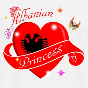 Albanian Princess designs - Men's Premium T-Shirt