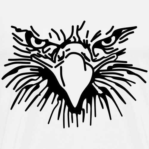 Eagle Head - Men's Premium T-Shirt