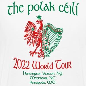 the polak ceili world tour - Men's Premium T-Shirt