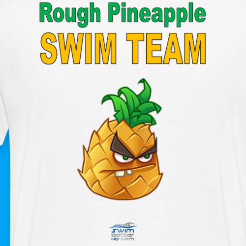 Rough pineapple - Men's Premium T-Shirt