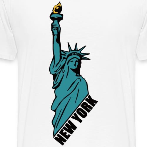 Statue of Liberty - Men's Premium T-Shirt