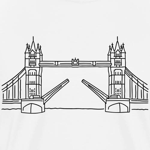 London Tower Bridge - Men's Premium T-Shirt