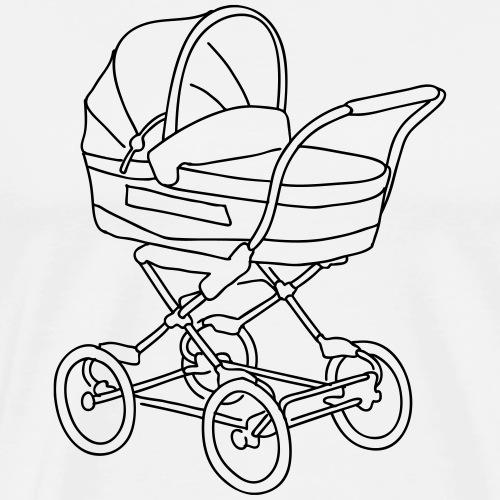 Baby stroller - Men's Premium T-Shirt