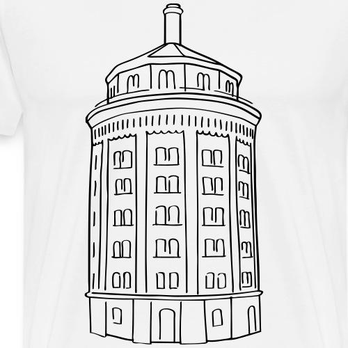 Water tower Berlin - Men's Premium T-Shirt