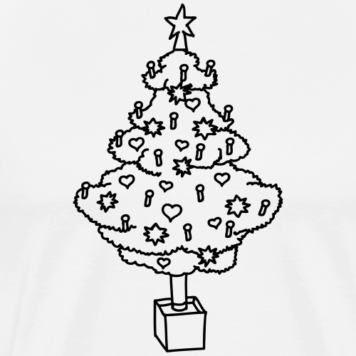 CHRISTMAS TREE 2 - Men's Premium T-Shirt