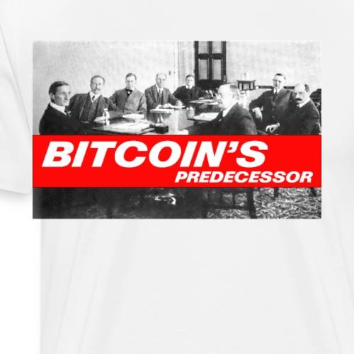 Bitcoin's Predecessor - Men's Premium T-Shirt