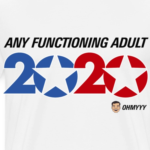 ohmyyy 2020 white shirt - Men's Premium T-Shirt