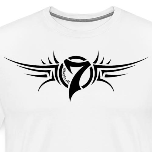 MayheM-7 Tattoo Logo Black - Men's Premium T-Shirt