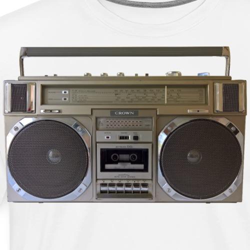 Boombox CROWN CSC 950L Ghettoblaster - Men's Premium T-Shirt