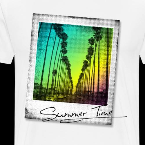 Summertime Fun Photo - Men's Premium T-Shirt
