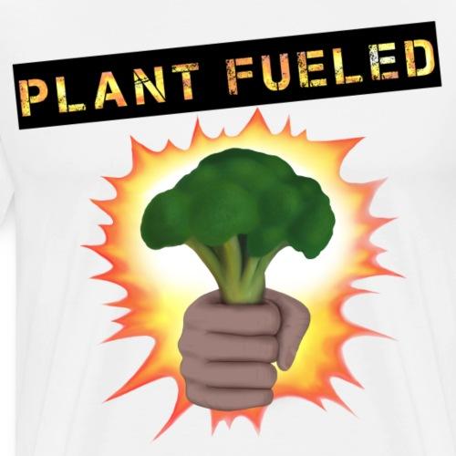 Vegan Plant fueled Broccoli - Men's Premium T-Shirt