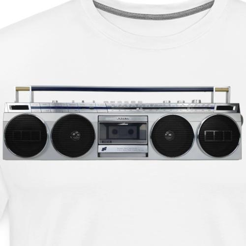 Boombox Sanyo M7830 Ghettoblaster - Men's Premium T-Shirt