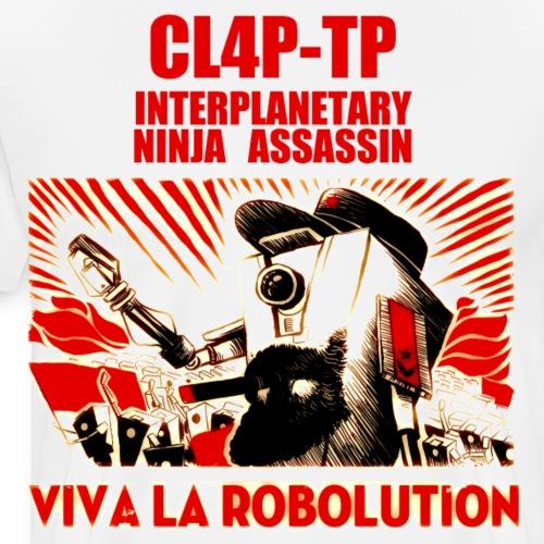 Claptrap Viva la Robolution - Men's Premium T-Shirt