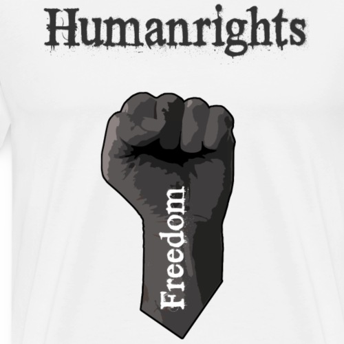 Humanrights with fist, Freedom