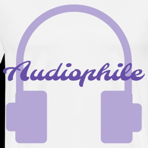 Audiophile Headphones - Men's Premium T-Shirt