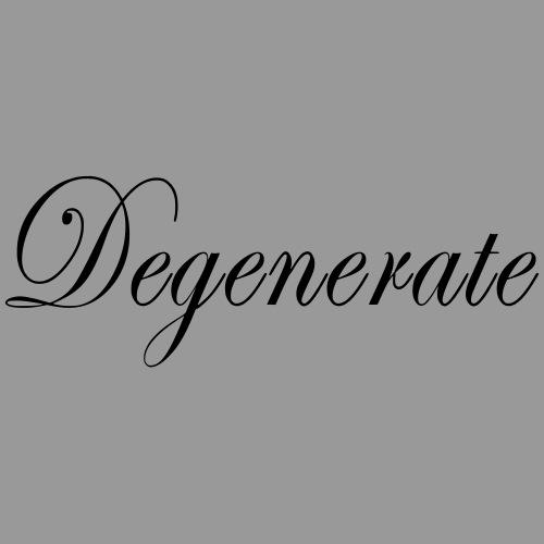 Degenerate - Men's Premium T-Shirt