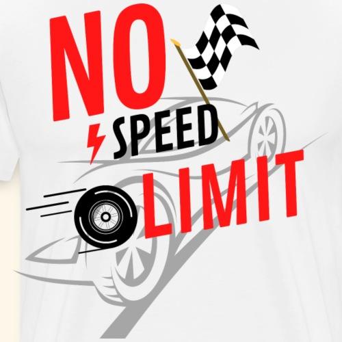 nospeedlimit - Men's Premium T-Shirt