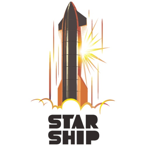 Star Ship Mars - Light - Men's Premium T-Shirt