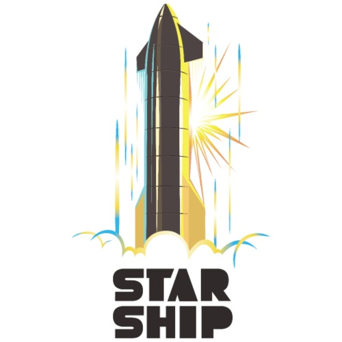 Star Ship Earth - Light - Men's Premium T-Shirt