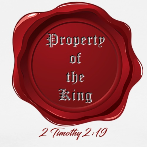 Property of the King - Men's Premium T-Shirt