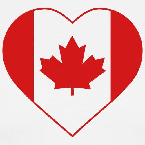 Canada Heart - Men's Premium T-Shirt