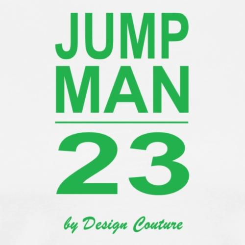 JUMP MAN 23 GREEN - Men's Premium T-Shirt