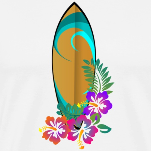 SurfBoard - Men's Premium T-Shirt
