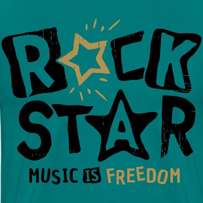rock star music freedom