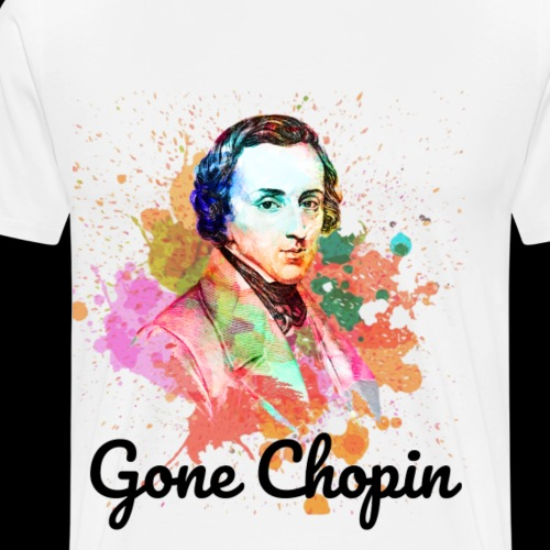 Gone Chopin | Funny Classical Music - Men's Premium T-Shirt