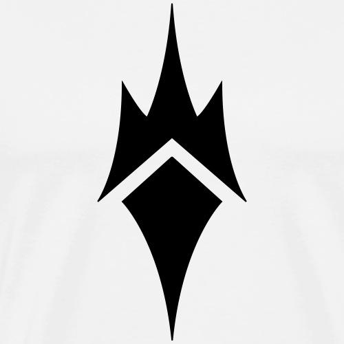 Nocturnes logo (black) - Men's Premium T-Shirt