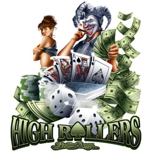 High Roller by RollinLow - Men's Premium T-Shirt