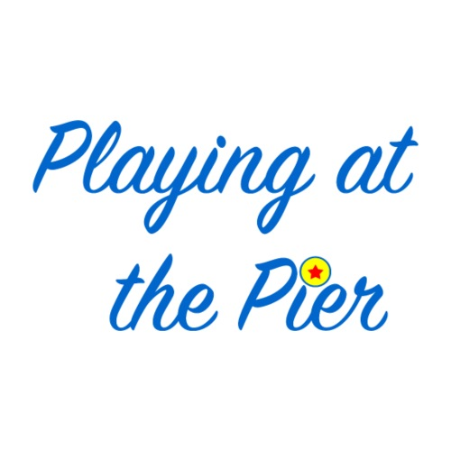 Playing at the Pier - Men's Premium T-Shirt