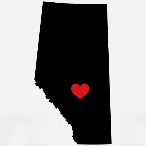 My heart is in Alberta - Men's Premium T-Shirt