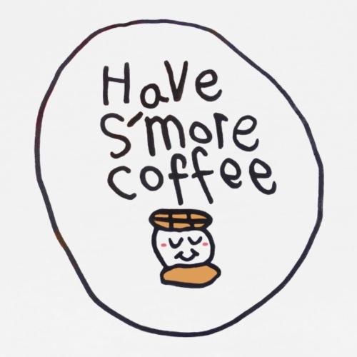 Have Smore Coffee, Black Outline (tshirts) - Men's Premium T-Shirt