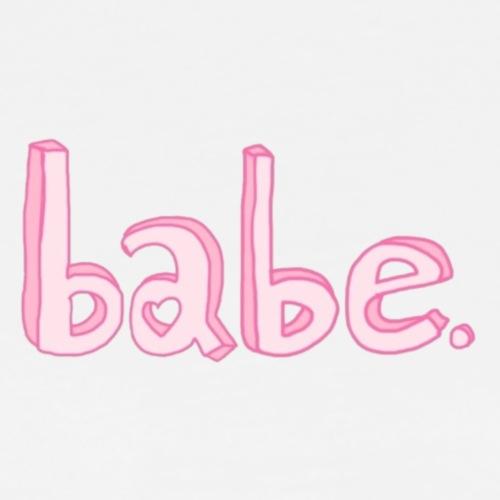 babe. clipart tumblr - Men's Premium T-Shirt