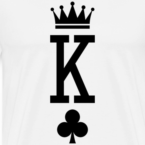 King of Cards - Men's Premium T-Shirt