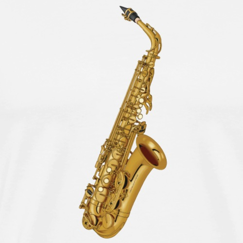 Alto Saxophone · gold rotate - Men's Premium T-Shirt
