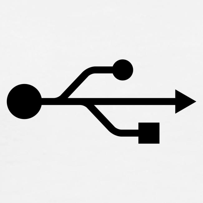 Small USB Logo Left Chest
